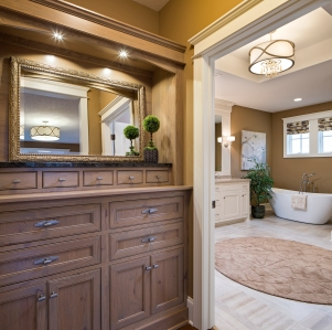 Interior Design: Jim Kuiken Design Home Design: Jim Kuiken Design Builder: Accent Homes, Inc. Photographer: Landmark Photography